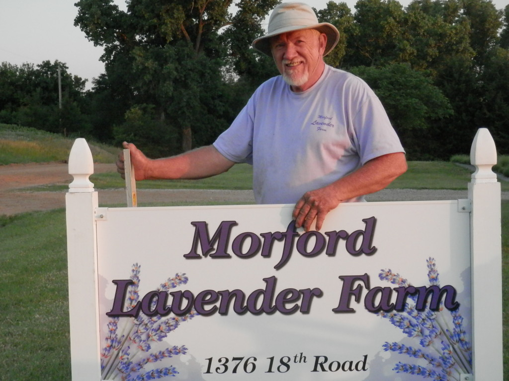 Jim Morford of Morford Lavender Farm